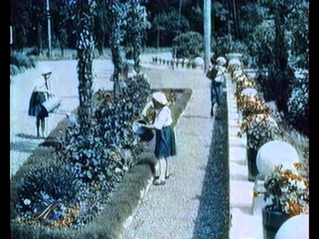 Артек. Фильм У теплого моря 1940. Один из первых документальных цветных фильмов СССР USSR film » Freewka.com - Смотреть онлайн в хорощем качестве