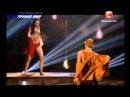 Танцуют все 7 сезон - 1 прямой эфир - Олег и Юлиана (5.12.2014)
