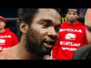 Charles Krazy Horse Bennett post-fight interview inside the cage after knocking out KJ Noons