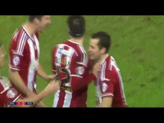 Шеффилд Юнайтед - Саутгемптон 1:0 Обзор матча . . VIDEO Sheffield United 1 - 0 Southampton [Capital One] Highlights - Soccer Hig