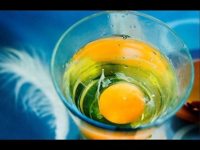 Снятие негатива с человека и лечения несложных болезней сырым яйцом