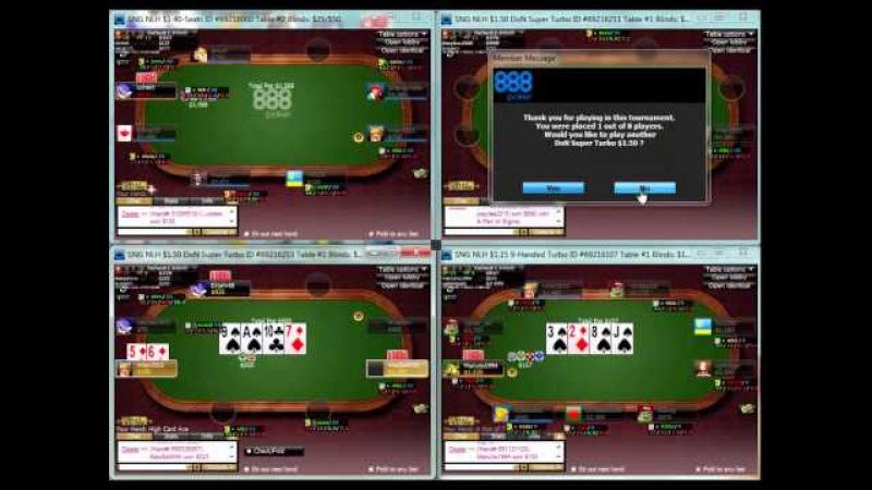 [Academy Poker] | ВОД SnG / MTSnG 888 Poker от тренера Дмитрий Hammerhead