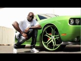 ASANTI WHEELS: Cheick Kongo and the Mean Green Machine Challenger SRT8 392 Hemi