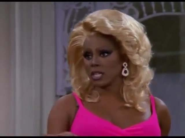 RuPaul in Sabrina, the Teenage Witch