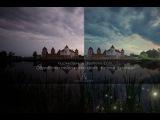 Обработка пейзажной фотографии в стиле фэнтези