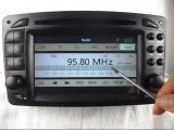 Car DVD Player GPS Navigtion for Mercedes Benz Vaneo