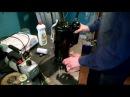 Промывка компрессора кондиционера перед заменой масла после перегрева