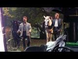 Into the Woods: Behind the Scenes Movie Broll 1- Meryl Streep, Johnny Depp