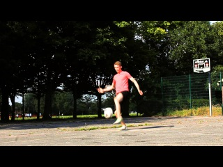 Kamil & Rowen Lower Freestyle Football 2014