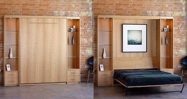 Спальня трансформер (1 фото) - картинка