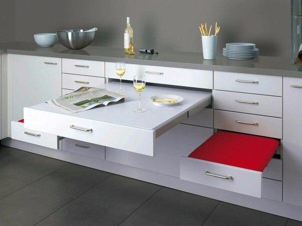 Экономим пространство на кухне! (1 фото) - картинка
