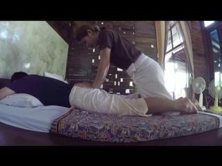 Пример массажа. Тайский салон.