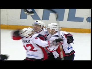 Автомобилист - Авангард 3-2 ОТ | 18.09.2015 | Обзор матча