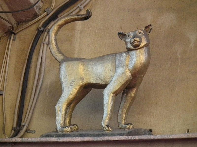 «Усы, лапы и хвост – вот мои документы»: приключения бронзовой кошки Василисы в Петербурге