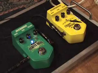 Visual Sound Route 808 Open Road Overdrive guitar pedal shootout w SG Blues Jr amp