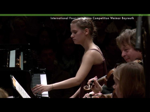 Marina Yakhlakova plays Piano Concerto No.1 by Franz Liszt - Piano Competition Finale