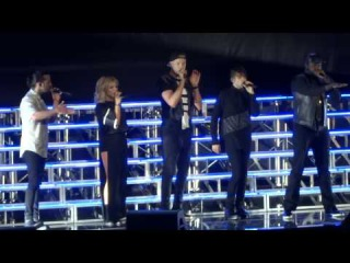 Pentatonix - Intro and Problem Ariana Grande cover Live in San Diego 8-16-15