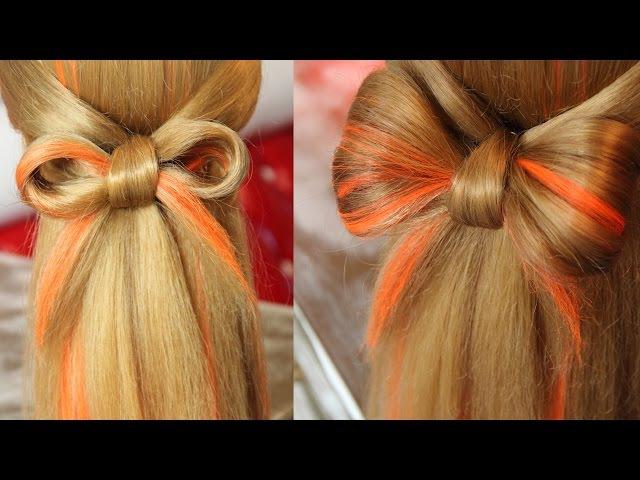 Bow hair - Бантик из волос - Hairstyles by REM