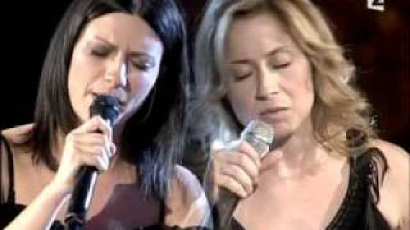Laura Pausini Lara Fabian - La Solitudine (Live)