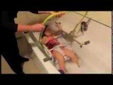 Подъемное приспособление для купания детей с ДЦП в ванне