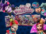 Way To Wonderland Kitty Cheshire,Lizzie Hearts,Madeline Hatter Apple White Review | Ever After High
