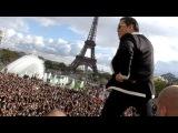 PSY GANGNAM STYLE Paris live flashmob at Trocadero with Cauet (NRJ)