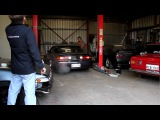 Tall Pauls Hellaflush S14 on start up