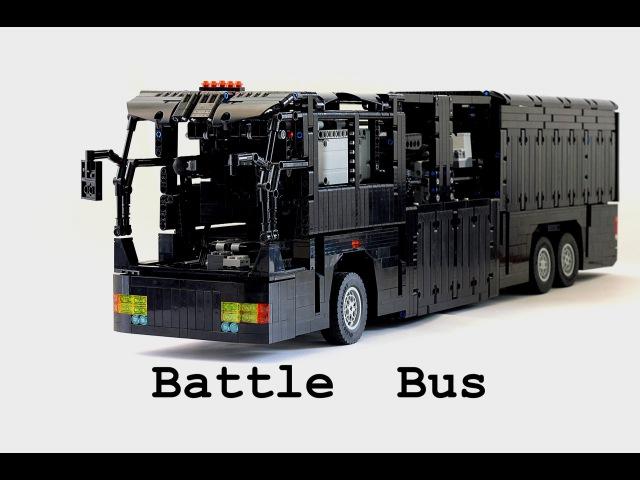 Lego Technic VIP Transporter Лего Техник Автобус Трансформер