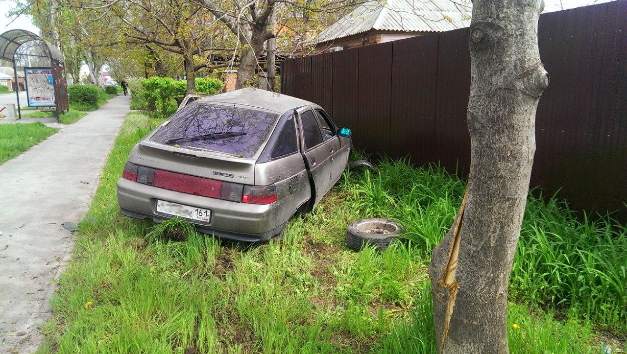 Очередное ДТП на 2-ой Советской: Девушка на Hyundai Accent врезалась в «ВАЗ-2112»