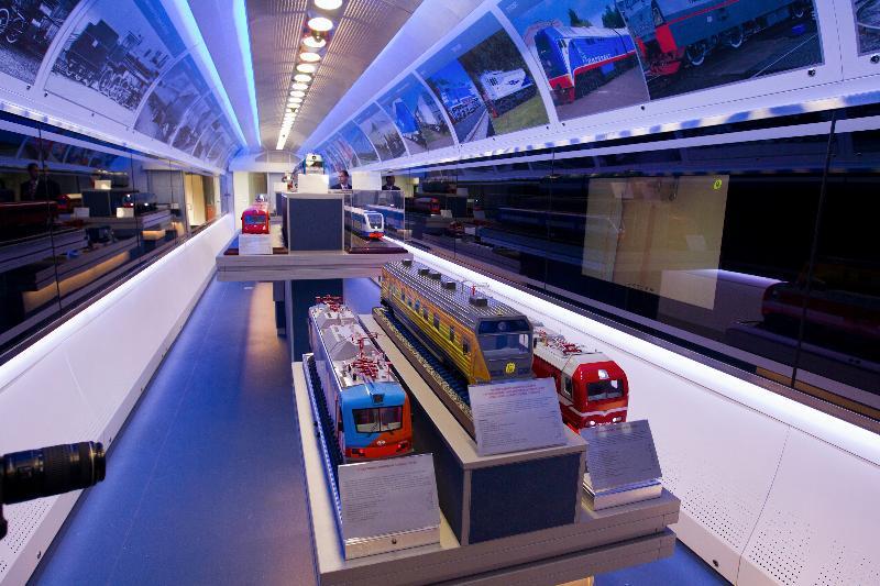 В Таганрог прибыл «Инновационный поезд»