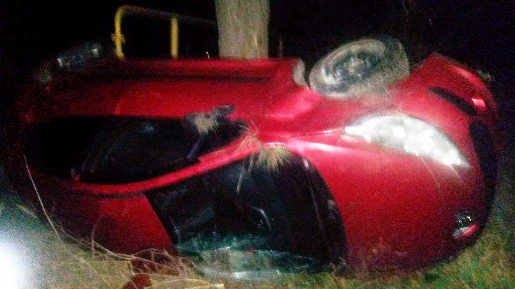 Под Таганрогом лихач на Peugeot 207, перевернувшись, насмерть сбил женщину-пешехода