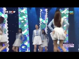151020 Lovelyz (러블리즈) - Ah-Choo (아츄) @ 더쇼 The Show [1080p]