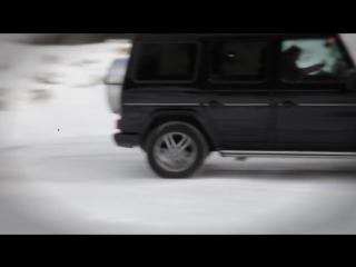 Mercedes Gelandewagen_ Тест-драйв в программе Москва рулит