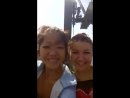 Мы с Танюхой в Гелинджике на канатной дороге