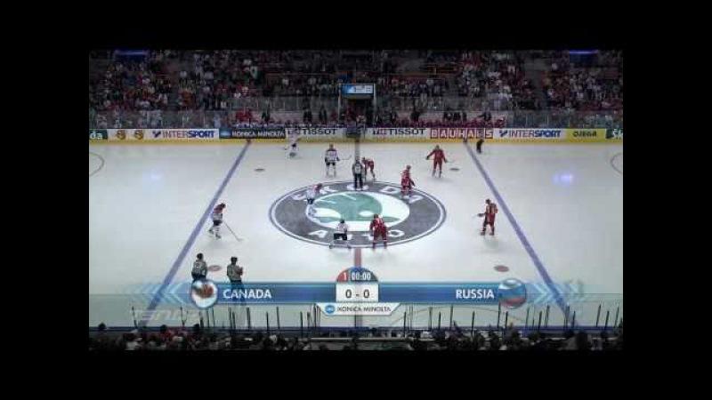 Full HD Россия Канада финал 2008 final Russia Canada best moments HD Quebec