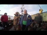 Рыбалка на Баренцевом море. Мурманская область, пос. Териберка.