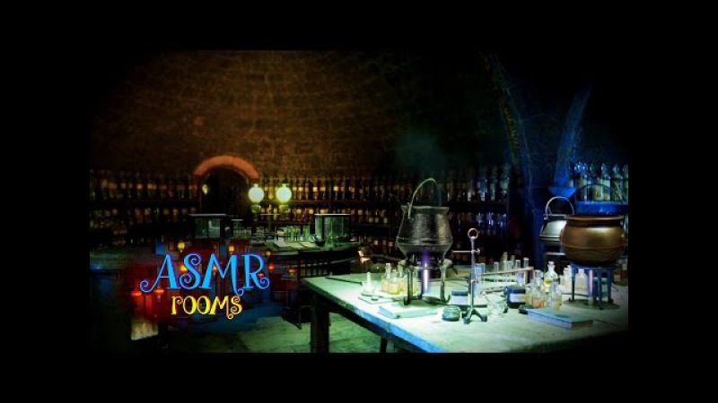 Harry Potter ASMR - Snapes potion classroom - Ambient Sound White Noise - potion boiling - HD