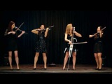 Palatine Electric String Quartet perform Palladio by Karl Jenkins