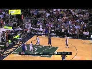 HD Detroit Pistons vs Utah Jazz | Full Highlights | March 14, 2015 | NBA Season 2014/15