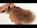 Вечерняя причёска с объёмными крупными волнами.mpg