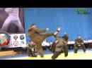 Показательные бои по армейскому рукопашному бою