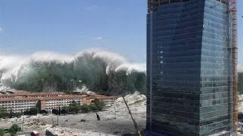 Цунами Япония 2011 Землетрясение и цунами в Японии 2011 видео