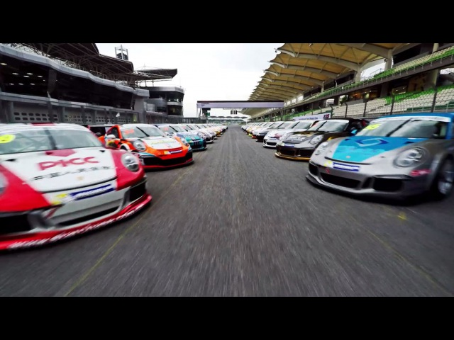 Highlights of the Porsche Carrera Cup Asia 2015 Official Test Days