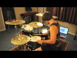 Bless the fall - Open water (feat. lights) - drum cover