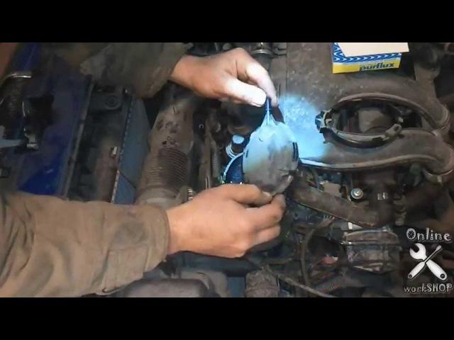 [Автодело] Замена топливного фильтра Пежо Партнер/Ситроен Берлинго 1.9D