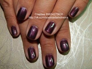 Вишневый сад - Дизайн ногтей, Рисунки на ногтях, Nail