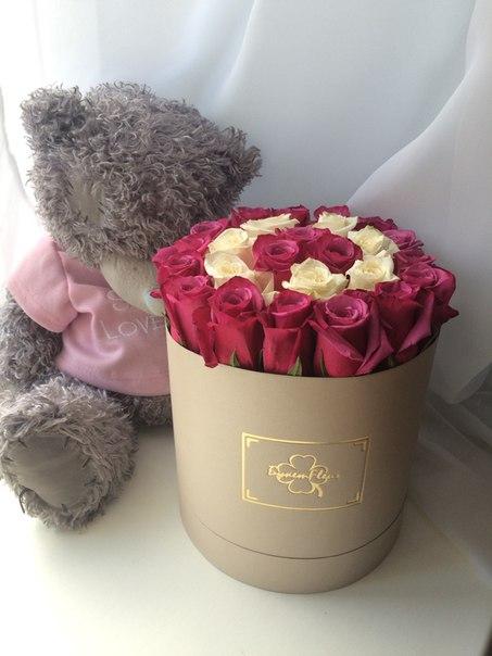 Цветы в коробке москва доставка