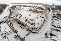 16 декабря 2014  - Самарская область: Монастырь в селе Винновка зимой