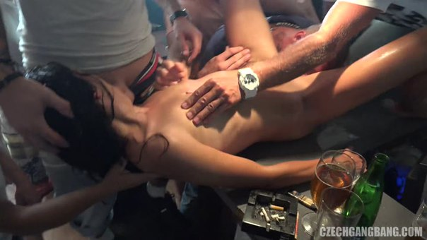 Czech GangBang 19 Part 1