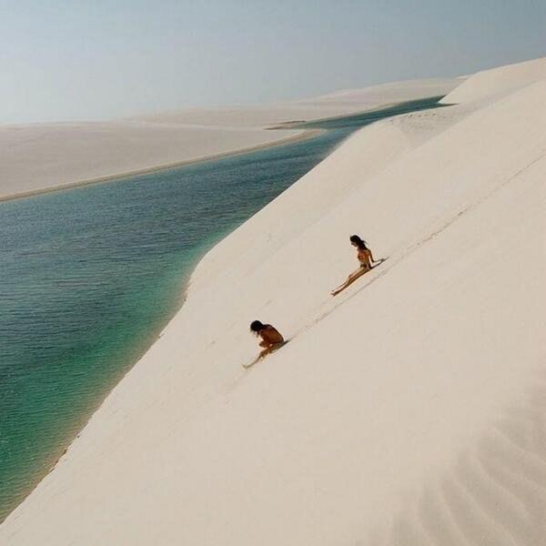 Дюны Ленсойс, Бразилия